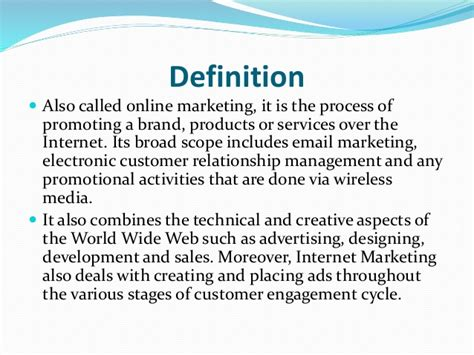 seo marketing definition introduction to marketing