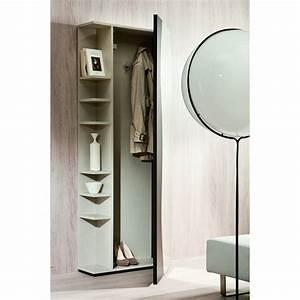 meuble d39entree avec porte manteaux et miroir futura With meuble d entree porte manteau