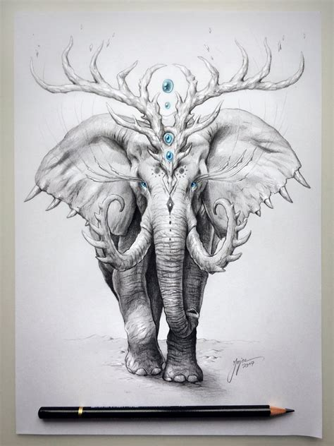 Elephant Soul by JoJoesArt on DeviantArt