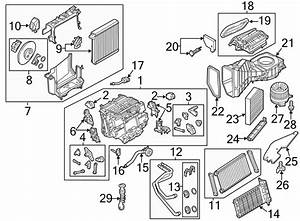 2012 Audi Kit  Hardware  Case  Blower  Hvac  Motor Housing