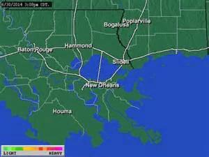 Weather Radar New Orleans