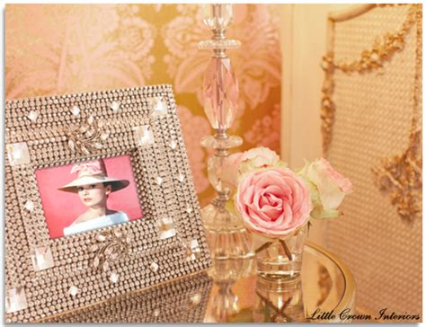 Pink And Gold Glamour Nursery