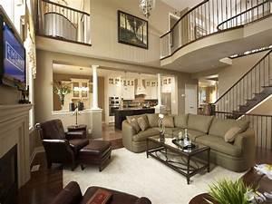 Home elegant furniture, model home living room decorating