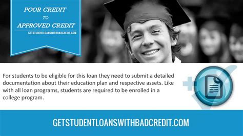 Do Banks Offer Student Loans With Bad Credit.