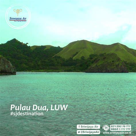 foto pulau dua maskot pariwisata kabupaten banggai