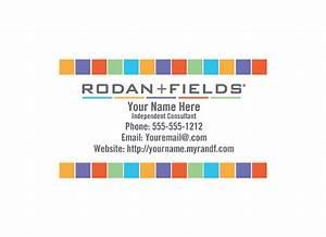 Rodan fields diy business card template for Rodan and fields business card template