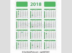 Eua, oficial, , feriados, 2018, calendário Semana, eua