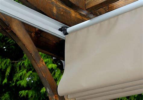 pergola covers  breeze pergola  retractable canopy outdoor living today