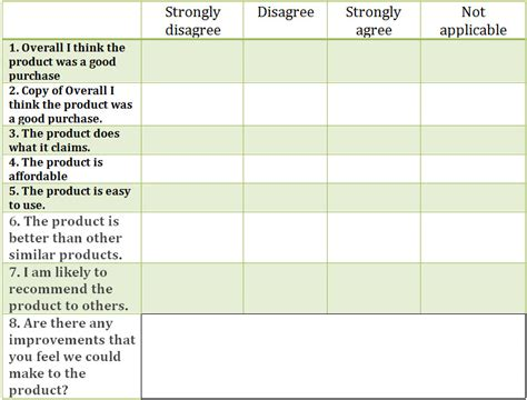 Likert Scale Evaluation Template by 29 Likert Scale Templates Free Excel Doc Exles