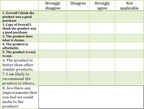 Likert Scale Template 29 Likert Scale Templates Free Excel Doc Exles
