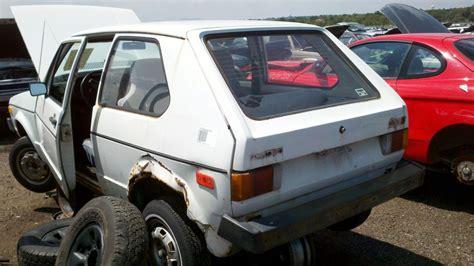 junkyard find  volkswagen rabbit  door  truth