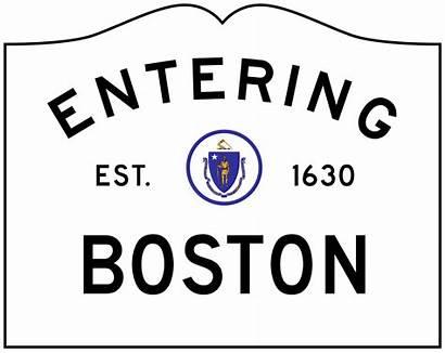 Boston Sign Ma Svg Limit Corporate Entering