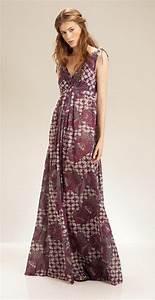 Robe Longue Style Boheme : robe longue hippie boheme ~ Dallasstarsshop.com Idées de Décoration