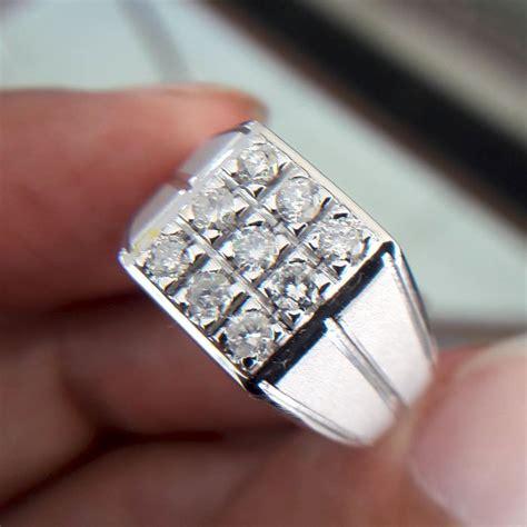 jual cincin pria berlian eropa 0348 ring palladium cincin dan batu batu permata di lapak
