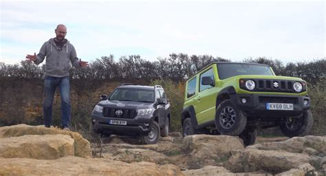 suzuki jimny tough   follow toyotas