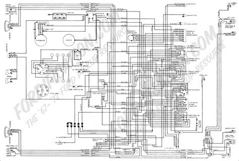 Windshield Wiper Wiring Diagram 69 Torino by Ford Truck Technical Drawings And Schematics Section H