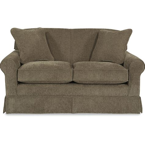 Apartment Size Loveseats by La Z Boy Madeline Apartment Size Sofa With Rolled Arms