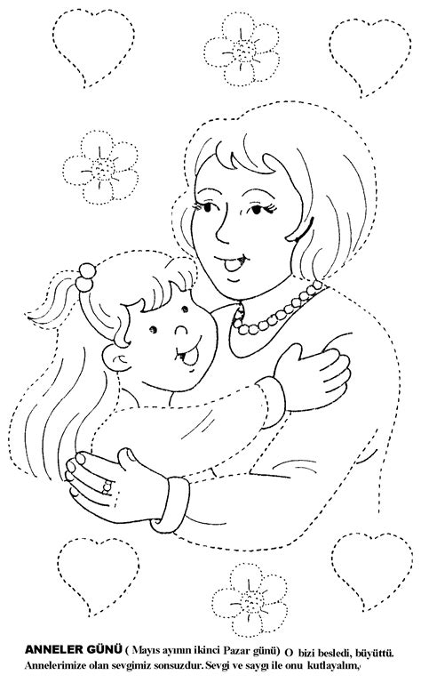 mothers day worksheet  kids crafts  worksheets  preschooltoddler  kindergarten