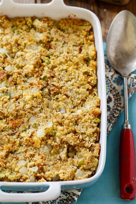 southern cornbread dressing spicy southern kitchen