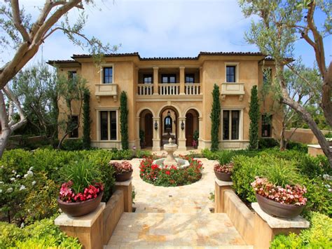 Mediterranean Style : Mediterranean Style House Colors For Homes Exterior Stucco