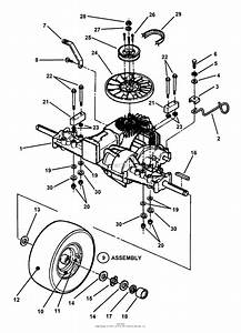 Snapper 381451hbve  84393  38 U0026quot  14 Hp Rer Hydro Drive Series 1 Parts Diagram For Hydro Drive