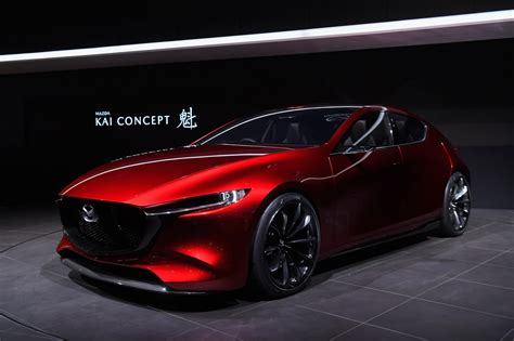 Mazda Kai Concept ต้นแบบ Mazda 3 เจนใหม่ คาดเจอกันปี 2019