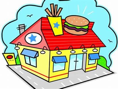 Restaurant Clipart Restaurants Fast Place Transparent Pinclipart
