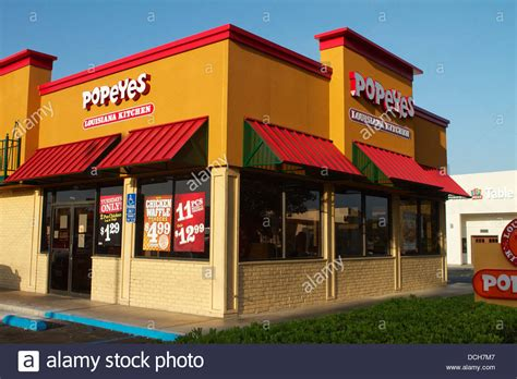 ca cuisine popeyes louisiana kitchen restaurant in california with a quot stock photo royalty free image