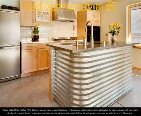 corrugated metal kitchen island cool corrugations metal roof sheeting decorator ideas 5883