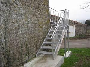 Escalier D Extérieur : fabricant d 39 escalier d 39 ext rieur vend e 85 m tallerie soulard ~ Preciouscoupons.com Idées de Décoration