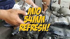Yamaha Mio Sporty   Refresh Engine 54mm Bore
