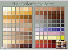 头发色值色板源文件__其它_PS插件_源文件图库_昵图网nipiccom