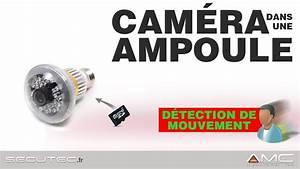Camera Surveillance Infrarouge Vision Nocturne : camera ampoule avec d tection de mouvement et vision nocturne secutec fr youtube ~ Melissatoandfro.com Idées de Décoration