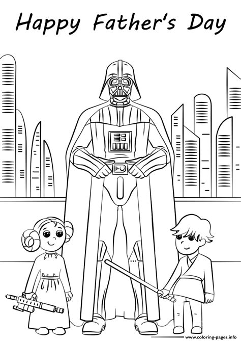 star wars fathers day coloring pages printable