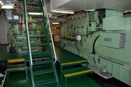 Ship Generator by Accidents At Sea Falling Off Engine Room Staircase