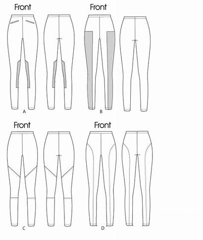 Leggings Sewing Patterns Pattern Mccalls Mccall Tights