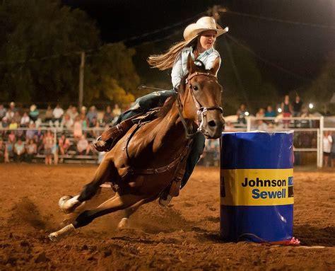 rodeo barrel racing texas horses dangerous fall ride why horse riding wyoming flickr take season horseback creative commons these
