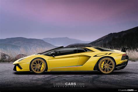 Lamborghini Working On The Next Aventador Evolution2018