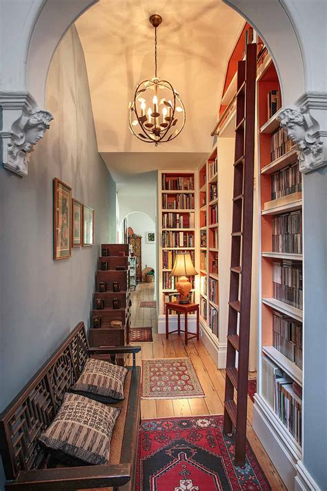 furniture floor  ceiling bookshelves