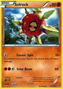 solrock pokemon x and y card review