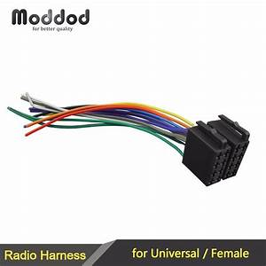 Aliexpress Com   Buy Universal  Female Car Radio Wire Cable Wiring Harness Stereo Adapter