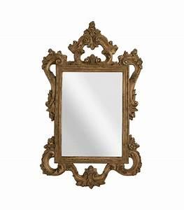 Grand Miroir Baroque : grand miroir mural en bois style baroque ~ Teatrodelosmanantiales.com Idées de Décoration