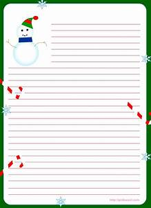 free printable christmas stationary stationary With holiday letter writing paper
