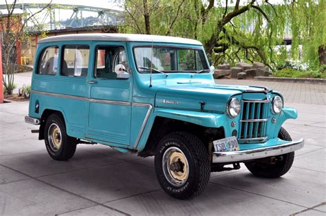 old jeep personality 62 willys overland 4x4 mint2me