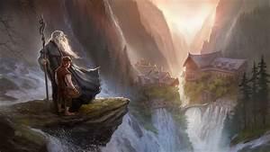 Gandalf and Bilbo Baggins - The Hobbit wallpaper - 1070348