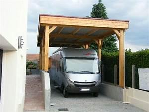 Carport Camping Car : carport abri camping car carport bois nea concept ~ Melissatoandfro.com Idées de Décoration