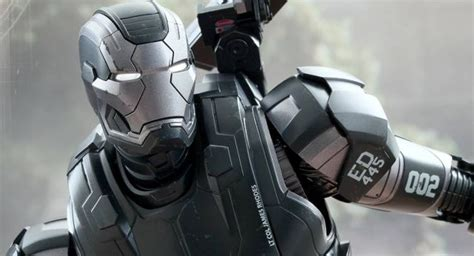 hot toys reveals  images  war machine mark ii