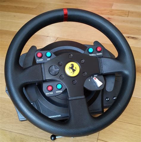 the bureau ps3 test thrustmaster t300 gte wheel volant ps4