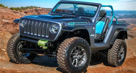 new jeep truck concept jeep unveils seven new concepts for the easter jeep safari