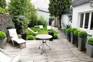 le jardin de ville With amenager son entree de maison exterieur 0 amenager son entree inspirations pour structurer et